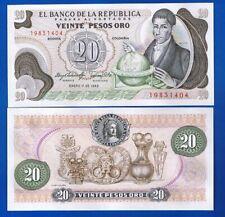 Colômbia Kolumbien - 20 Pesos 01-01-1983  Pic-409  UNCIRCULATED