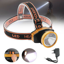 2IN1 50W LED Headlamp Head Torch Lamp Spotlight Rechargeable Flashlight 2000mAh