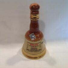Vintage Decorative Collectible 4/5 Quart Bell Liquor Bottle Made in Scotland