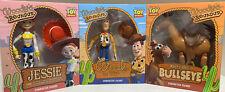 Toy Story Roundup Figures lot Jessie Woody Bullseye