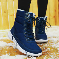 Women's Winter Snow Boot Waterproof Fur Lined Mid Calf Winter Warm Booties