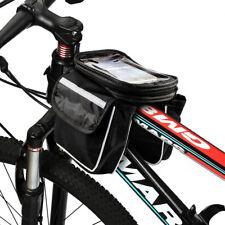 Fahrrad-Halterung für iPhone 8 X Handy bis 5,5 Zoll Doppel-Rahmentasche Bike Rad