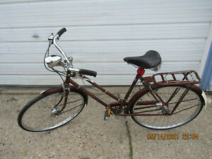 Really Nice Raleigh Superbe Bicycle Front Generator Hub and Key Locking Fork