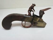 More details for antique flintlock lighter by h nock of london