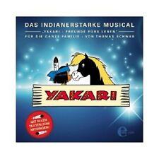 THOMAS SCHWAB/YAKARI- DAS MUSICAL  CD FILMMUSIK KINDERLIEDER NEU