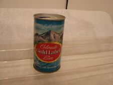 COLORADO GOLD LABEL 12 OZ. BEER CAN WITH DARKER BLUE BACK GROUND HARDER TO FIND