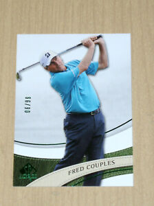 2013 2014 SP Authentic Golf Fred Couples GREEN parallel 6/99