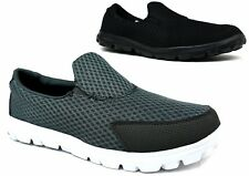 LADIES WOMENS NEW SLIP ON TRAINER ULTRA COMFORT PUMPS CANVAS SHOES UK SIZES 6-12