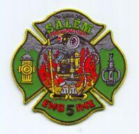 Salem Fire Department Engine 5 Patch Massachusetts MA