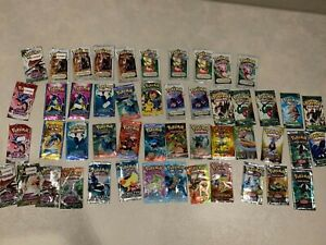 HUGE Collection of Vintage Rare Pokemon TCG Card Booster Pack EMPTY EX SETS 3DAY