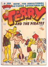 Terry and the Pirates #8 GD+ (2.5) Harvey Comic 1948