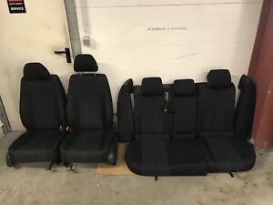 VW Passat 3C Variant Sitze Innenausstattung Stoff Schwarz Sitzheizung
