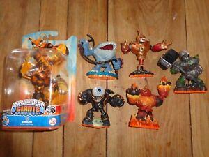 Skylanders Giants Large figures  SWARM-EYEBRAUL -CRUSHER-HOT HEAD-BOUNCER-THUMP