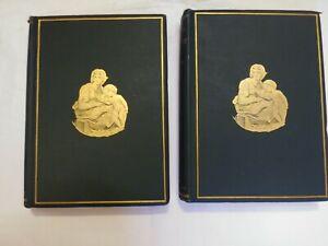 1898 Sacred and Legendary Art volumes 1 & 2 Mrs Jameson Longmans Hardcover