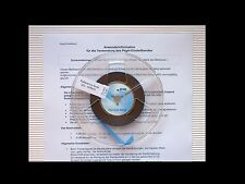 PEGELMESSBAND IEC 320 nWb/m 19 cm/s - Reference level tape 320 nWb/m 7.5 ips