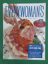 Vintage EVERYWOMAN'S Magazine April 1955 COMIC BOOK CONTROVERSY BEN HECHT Story