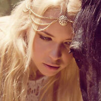 Women Tassels Head Chain Jewelry Headband Party Headpiece Hair Band Tide