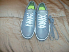 Skechers Gray Leather On The Go Quick Fit Comfort ShoeS GOGA MAT SZ 7.5 NWB