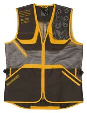 Browning Team Browning Shooting Vest Black and Gold Size Medium 3050069902