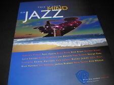This Is Your Mind On JAZZ 2001 Promo Poster Ad RICK BRAUN George Duke BOB JAMES