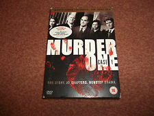 MURDER ONE CASE 1  /  6 x dvd boxset First Season R2  Free UK Postage