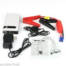 12V Jump Starter Car Battery Charger Mini Power Bank LED Light 10000mAh Portable