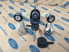 GENUINE FORD ESCORT MK4/SIERRA MK2 COMPLETE  LOCK SET ( NEW ). CHUBB 86/88