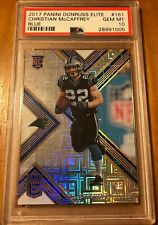 🔥Christian McCaffrey Rookie Card!! 03/15 Population Of 3🔥