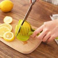 Küche Tomaten Kartoffelschneider Halter Obst Zitrone Gemüseschneider S3C2 L6S2