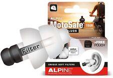 Motorcycling Earplugs Alpine Motosafe Tour Reusable Ear Plugs Best Travel Moto