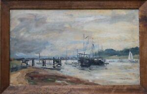 Diana Margaret Perowne- 1934-2020 - River landscape