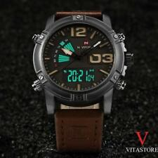 Montre US NAVY homme Naviforce Double Affichage Militaire Multifonctions WATCH