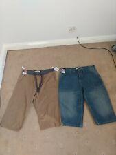 Mens 3/4 length  shorts Size 34