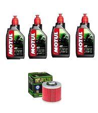 KIT OLIO MOTUL 4LT SCOOTER EXPERT 10W40 +HF145 Yamaha TT600 L,N,S,T,A,B,D  83-92