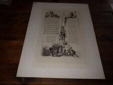 1880.La chanson de Roland (eau-forte).Duval