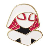 Pin cartoon movie spider-man pin Gwen Stacy enamel pin brooch jewelry Gift