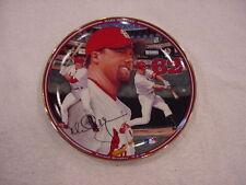 Beautiful Mark McGwire Home Run Hero 62nd Hr Plate, St. Louis Cardinals, Mint!