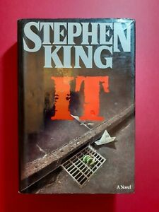 IT by Stephen King 1986 1st/1st VIKING US HARDBACK!! Excellent Condition RARE