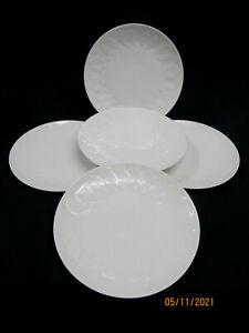 """Rosenthal """" Lotus weiss """"  5 Frühstücks/Kuchenteller  19 cm"""