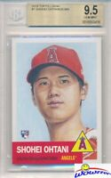 2018 Topps Living Set #7 SHOHEI OHTANI ROOKIE LA Angels 1953 Style BGS 9.5 GEM