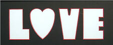 Valentine'S Day - Pre-cut Acid-free Photo Letter Mat - Love