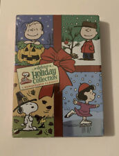 BRAND NEW Deluxe Holiday Collection 3 DVD Peanuts Xmas Halloween Thanksgiving