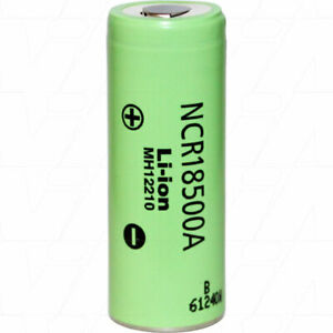 Panasonic NCR18500A 18500 2040mAh 3880mA 3.6V Lithium Ion Rechargeable Battery