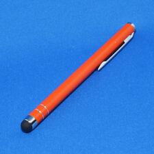 Eingabestift Touchpen Stylus für Tablet PC und Smartphone - Orange