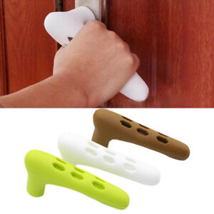 Silicone Door Handle Cover Handle Kids Safety Pad Anti-Collision Wall Protector