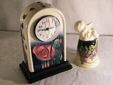 """An absolutely Stunning Clock by """"Old Tupton Ware"""" designed by Jeanne McDougall."""