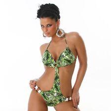 SEXY bikini verde costume da bagno moda mare monokini XL e XXL fashion GLAMOUR !