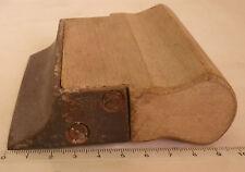ancien fer à  joint mouluré de maçon maçonnerie outil de métier