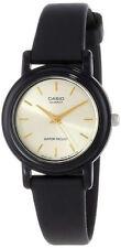 Casio LQ139E-9A Ladies Classic Gold Dial Analog Watch Resin Band LQ139EMV-9A