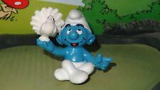 Smurfs SCCI Smurf with Dove Sitting Very Rare Vintage Classic Display Figurine